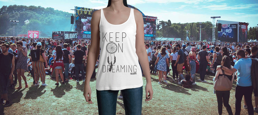 tshirt keep-on-dreaming